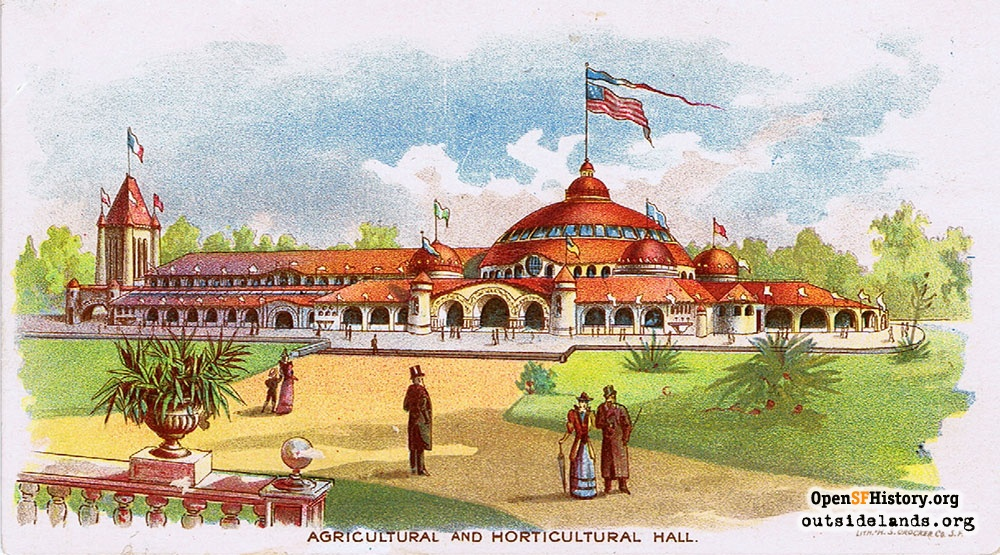 Horticultural and Agricultural Building at the 1894 Midwinter Fair
