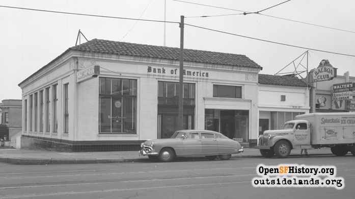 38th Avenue and Balboa Street, Then and Now