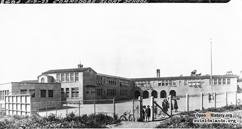 Commodore Sloat School