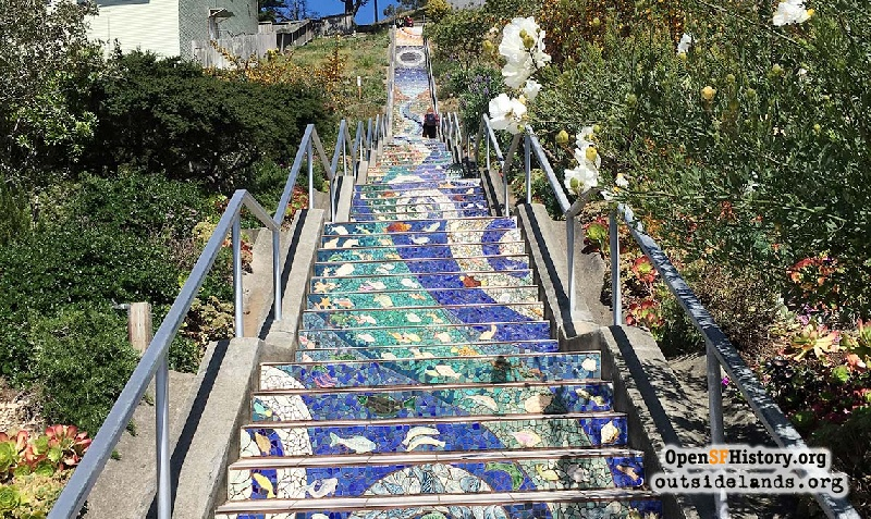 Outside Lands Podcast Episode 294: 16th Avenue Tiled Steps