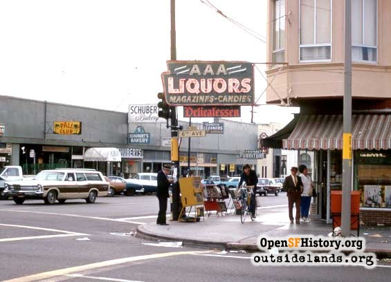 6th Avenue and Clement, 1970s