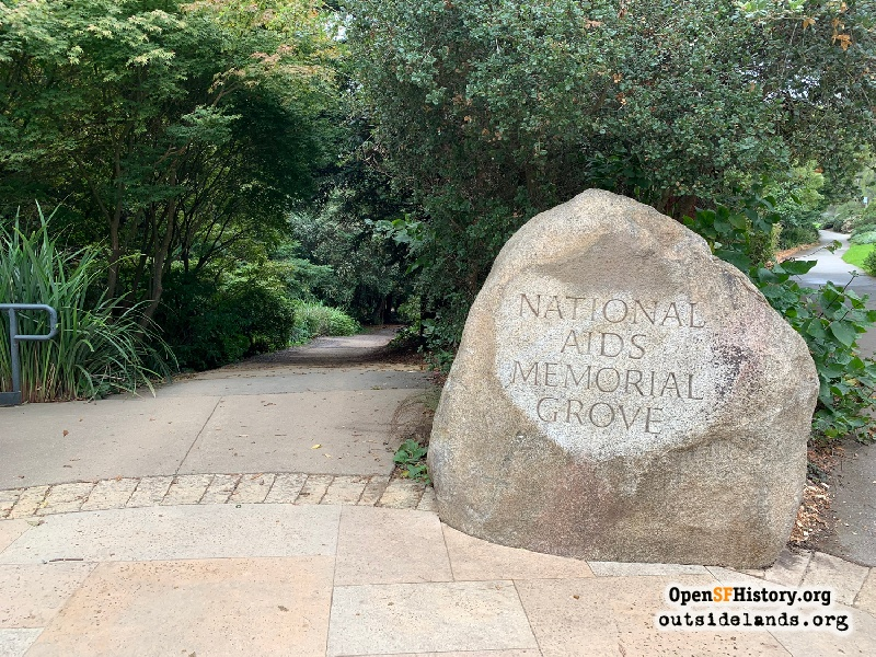 Outside Lands Podcast Episode 394: AIDS Memorial Grove
