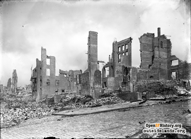 Outside Lands Podcast Episode 118: The 1906 Earthquake and Fire