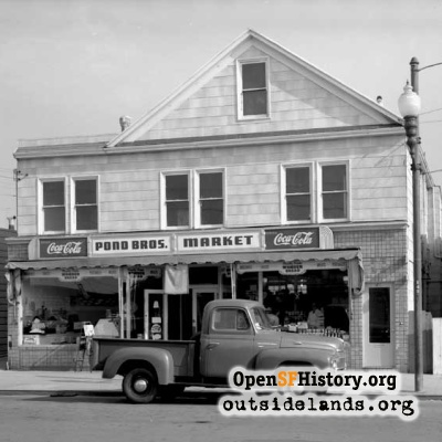Pond Brothers Market, 1951
