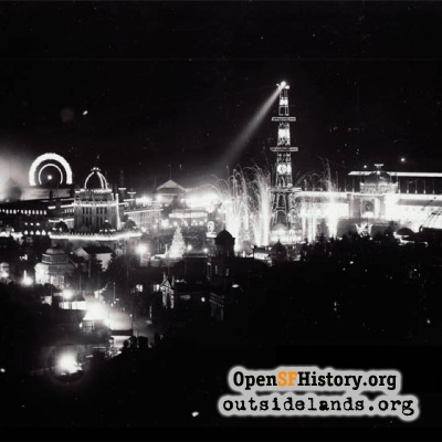 1894 Midwinter Fair at Night