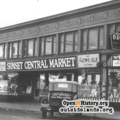 Sunset Central Market, 1930s