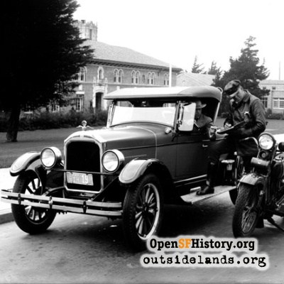 19th Avenue traffic stop, 1926