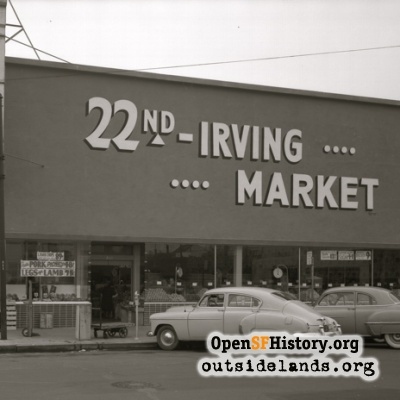 22nd Irving Market 1951