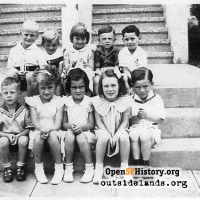 Parkside Birthday Party, 1936