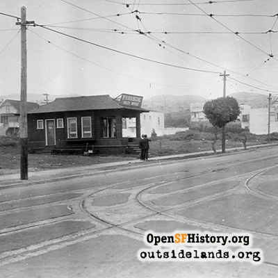 33rd Avenue and Taraval Street, 1920s