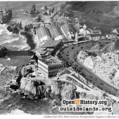 Cliff House, Sutro Baths circa 1937