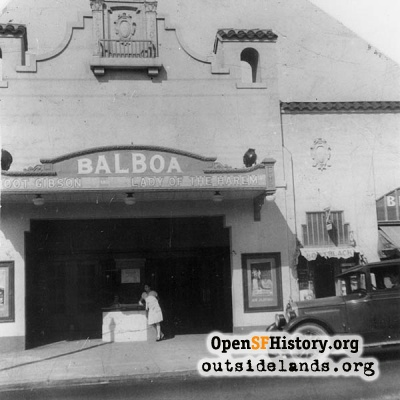Original Balboa Theater, 1928
