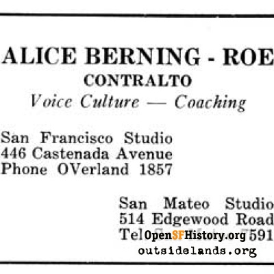 Alice Berning-Roe