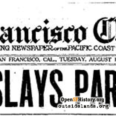 San Francisco Chronicle, August 12, 1930