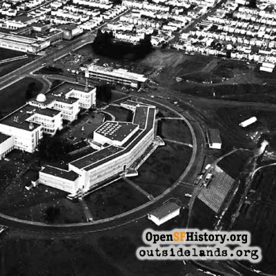 City College from air, 1950s