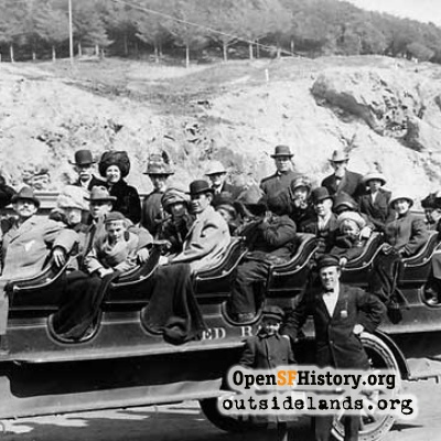 Cliff House Tour Bus 1910s