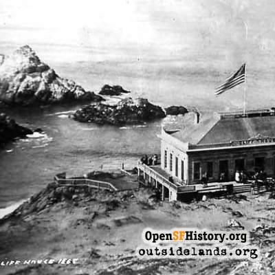 Cliff House, 1863
