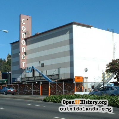 Coronet Theatre Demolition