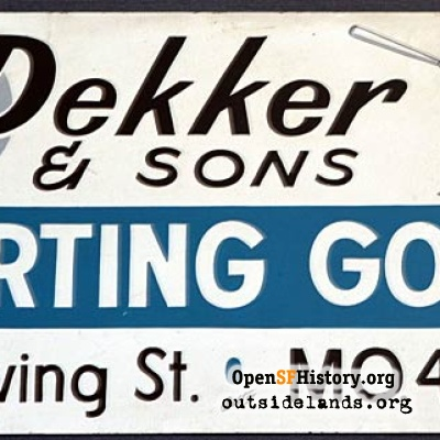 Dekker & Sons Sign