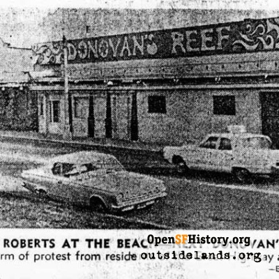 Donovan's Reef, part of the old Roberts-at-the-Beach, 1966.