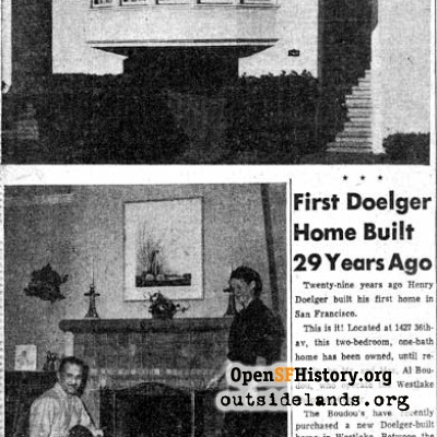 First Doelger home