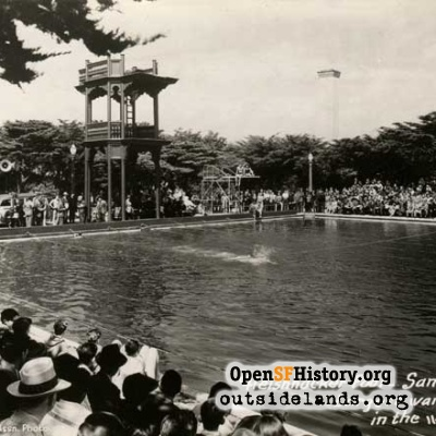 Fleishhacker Pool, 1940s