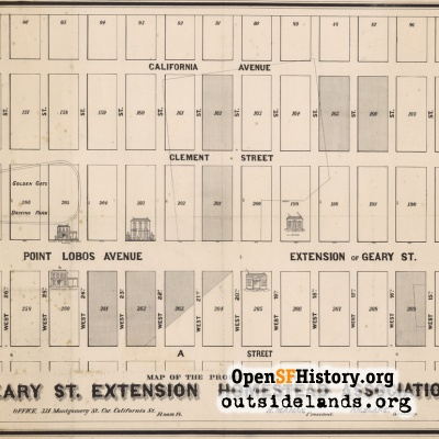 Geary Homestead Map