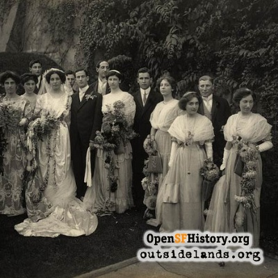 Hass-Lilienthal Wedding, 1909