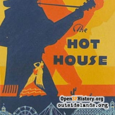 The Hot House advertisement