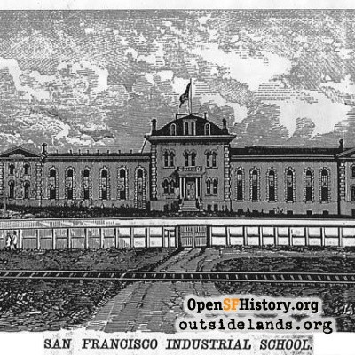 Industrial School Engraving