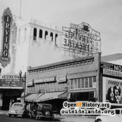 Irving Theater - 1942