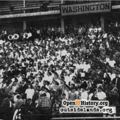 Washington Section at Kezar, 1947