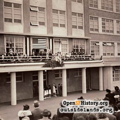 Lincoln High School dedication, 1940.