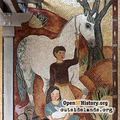 Mothers Building Mosaic