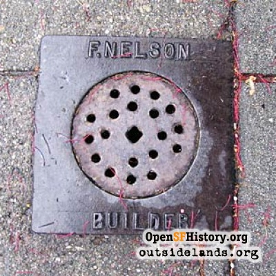 F. Nelson sewer connection cover