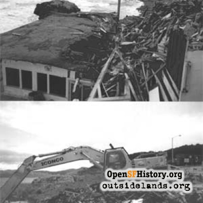 Cliff House Visitor Center Demolition