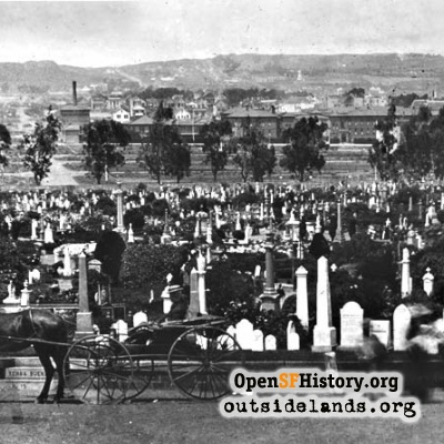 Odd Fellows Cemetery, 1890s