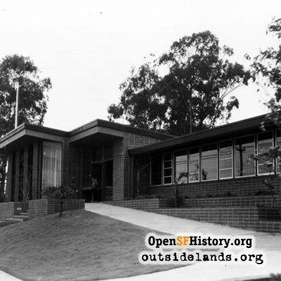 Parkside Library 1950s