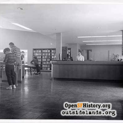 Parkside Library, 1959