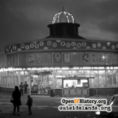 Playland Carousel at Night