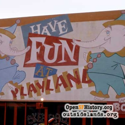 Playland Sign