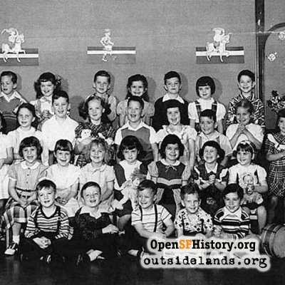 St. Cecilia 1951 Kindergarten AM