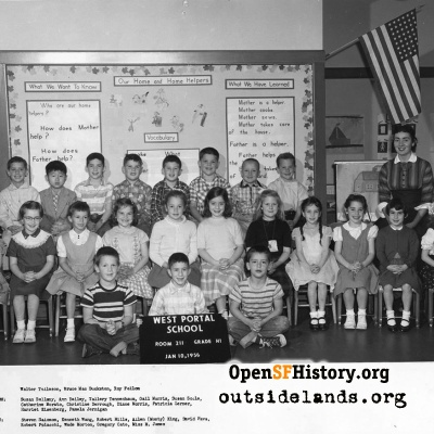 1956 West Portal First Grade, Room 211