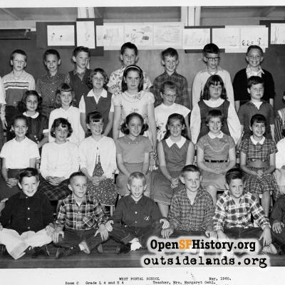 West Portal 1960 Low, High 4th Grade