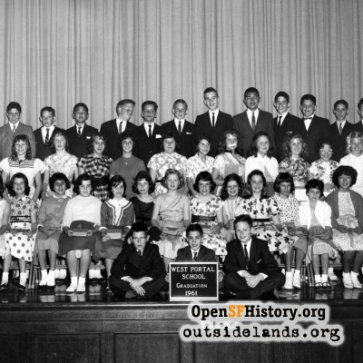1961 West Portal School Graduation