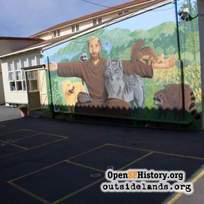 Mural of St. Francis, 2012