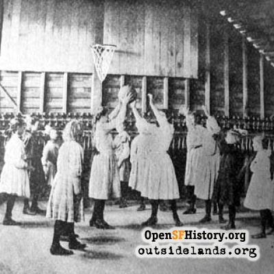 Girls Basketball, 1907