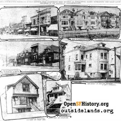 New Sunset Houses, 1910