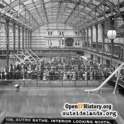 Sutro Baths Interior, 1894