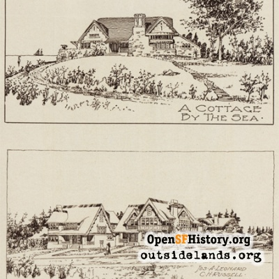 Leonard & Russell architectural drawings